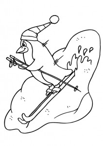 penguin coloring pages fun (20)