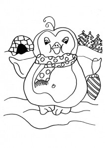 penguin coloring pages fun (21)