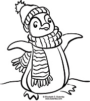 penguin coloring pages fun (7)
