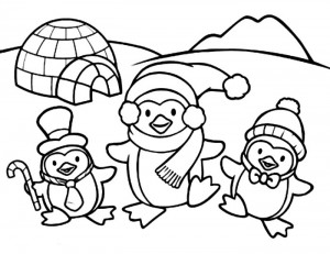 penguin coloring pages fun (8)