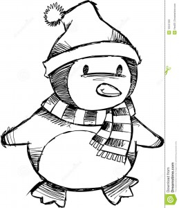 penguin coloring pages fun (9)