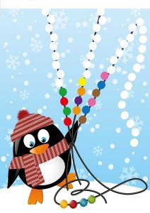 penguin printables pattern