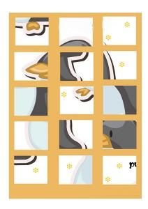 penguin printables puzzles