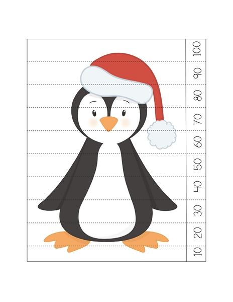 penguin puzzle activities Preschool