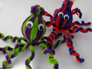 pipe cleaner octapus
