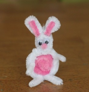 pipe cleaner rabbit