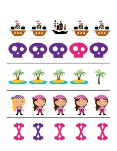 pirate worksheets activity