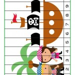 Pirate Worksheets for Kindergarten