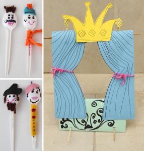 plastic spoon puppets (2)