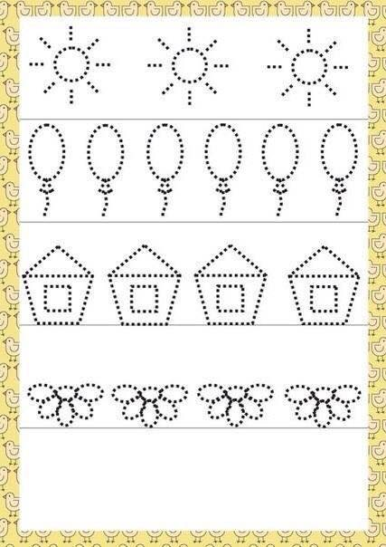 Number Names Worksheets writing activities for pre-k : pre writing activities preschool (2) Â« funnycrafts