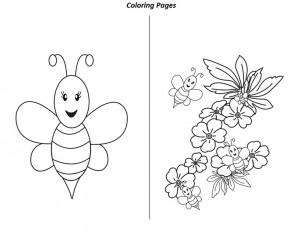 preschool bee worksheets