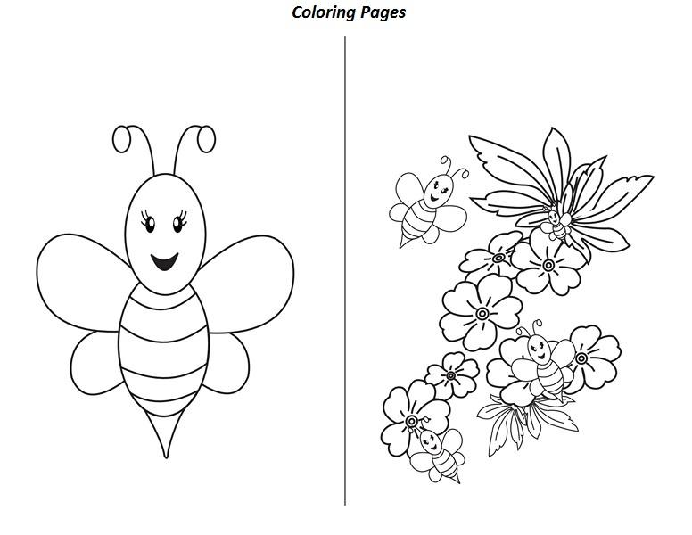 preschool bee worksheets funnycrafts – Bee Worksheets