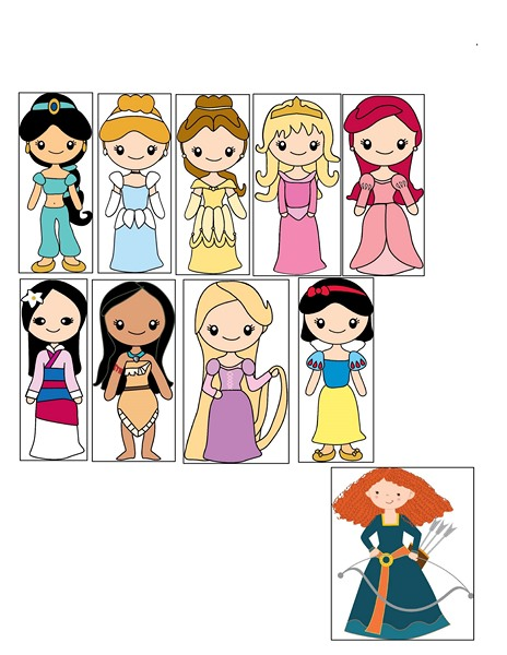 princess activities printables for kıds (19)