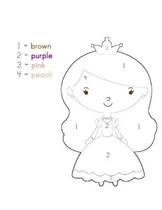 princess activities printables for kıds (4)