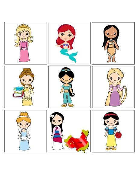 princess activities printables for kıds (6)