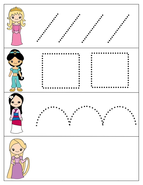 princess activities printables for kıds (24)