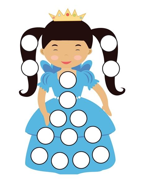 princess do a dot activities (3)