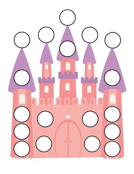 princess do a dot activities (4)