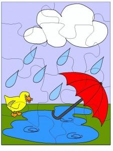 puzzle rain