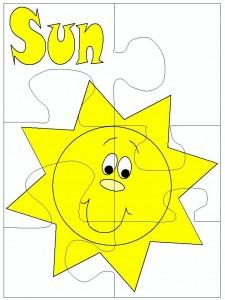 puzzle sun