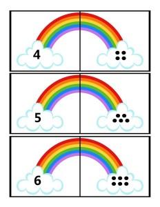 rainbow method math activity