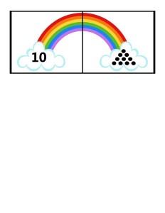 rainbow method math lesson