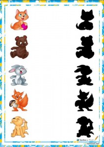 shadow matching for kıds,preschoolers (7)