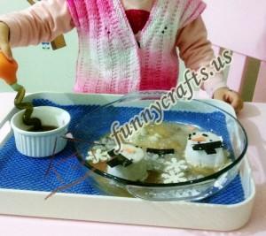 snowman science activities for preschoolers (2)