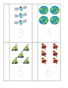 space theme math worksheets (9)
