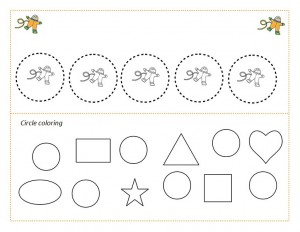 space theme shapes worksheets (1)