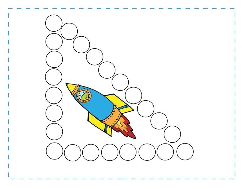 space theme shapes worksheets 8 funnycrafts. Black Bedroom Furniture Sets. Home Design Ideas