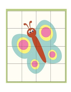 spring printables butterfly puzzle