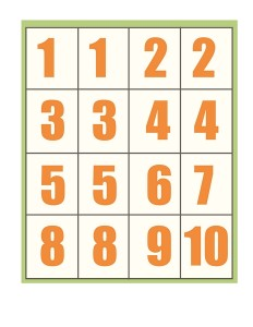 spring printables counting numbers