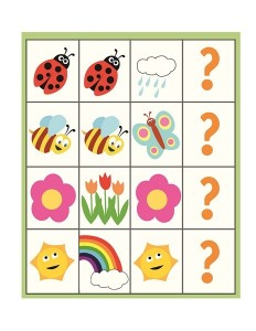 spring printables pattern cards