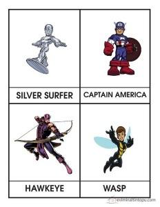 superheroes worksheets for kıds