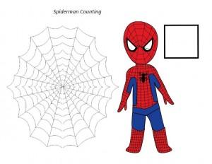 superheroes worksheets spiderman