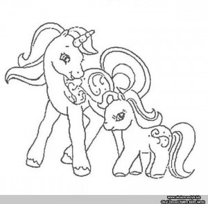 sweet my little pony coloring pages