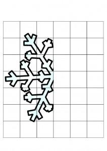 Symmetry Snowflake 171 Preschool And Homeschool