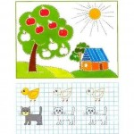 Tracing and Coloring Worksheets
