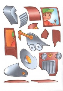 tractor cut and paste activities