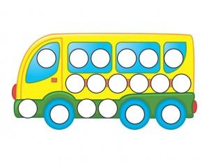 transportation printables bus