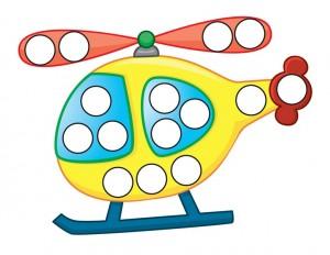 transportation printables helicopter