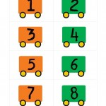Transportation Printable for Preschool