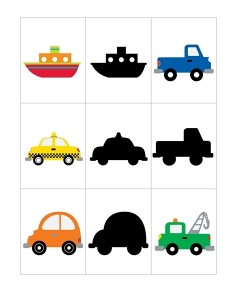 vehicles shadow matching