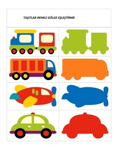 vehicles shadow matching for kıds (10)