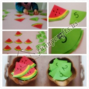 watermelon learning activities