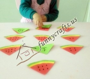 watermelon preschool activities