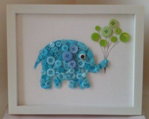 ınnovative and beautiful button crafts and projects (3)
