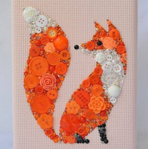 ınnovative and beautiful button crafts and projects (5)
