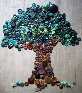 ınnovative and beautiful button crafts and projects (6)